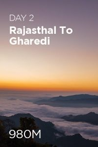 Day 2 Rajashtal to Gharedi