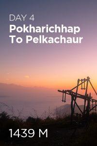 Day 4 Pokharichhap to Pelkachaur